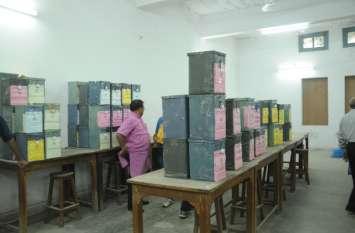 जेएनवीयू छात्रसंघ चुनाव : 245 मतपेटियां सुरक्षा घेरे में, अब 11 बजे से शुरू होगी मतगणना