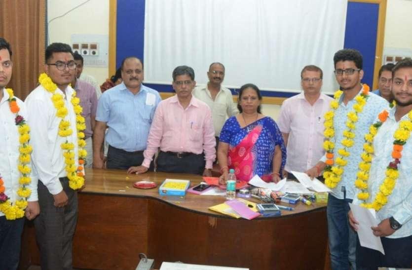 उदयपुर : आरसीए में केवल, सीटीएई में आयुश, होम साइंस में वासुप्रिया अध्यक्ष बनी