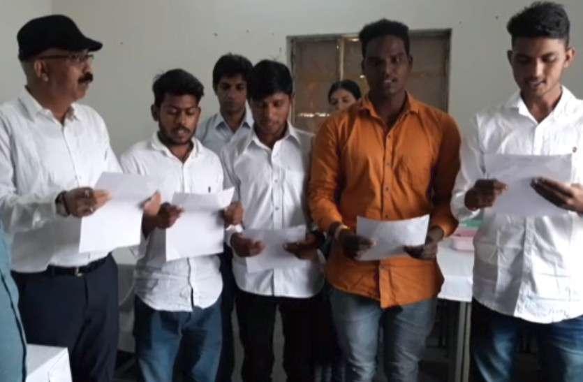 पुष्कर राजकीय महाविद्यालय के छात्र संघ चुनाव में एबीवीपी का कब्जा बरकरार