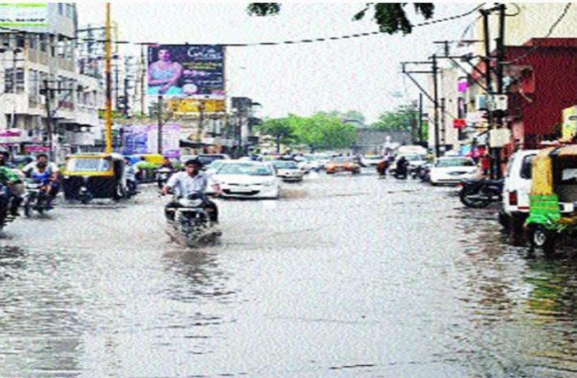 राज्य में अब तक ७४ फीसदी बारिश, २६ फीसदी शेष