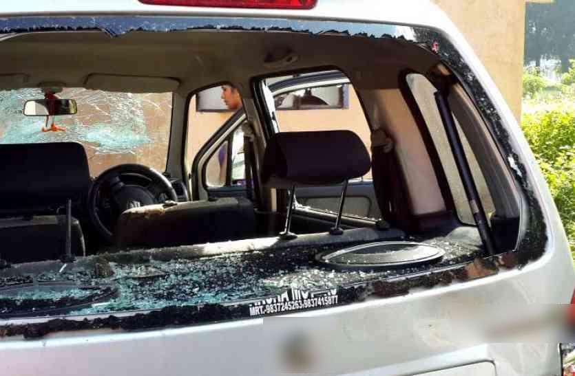 बीकानेर महाराजा गंगासिंह विवि की अध्यक्ष बनी सीमा राजपुरोहित पर जानलेवा हमला, समर्थकों पर भी किया पथराव