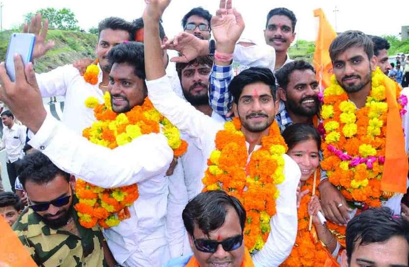 राजसमंद में एबीवीपी 'राज' बरकरार, बनाई हैट्रिक...