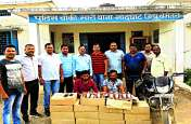 मध्यप्रदेश से लाकर जिले में कर रहे थे गंदा काम, पुलिस ने दो लोगों को किया गिरफ्तार