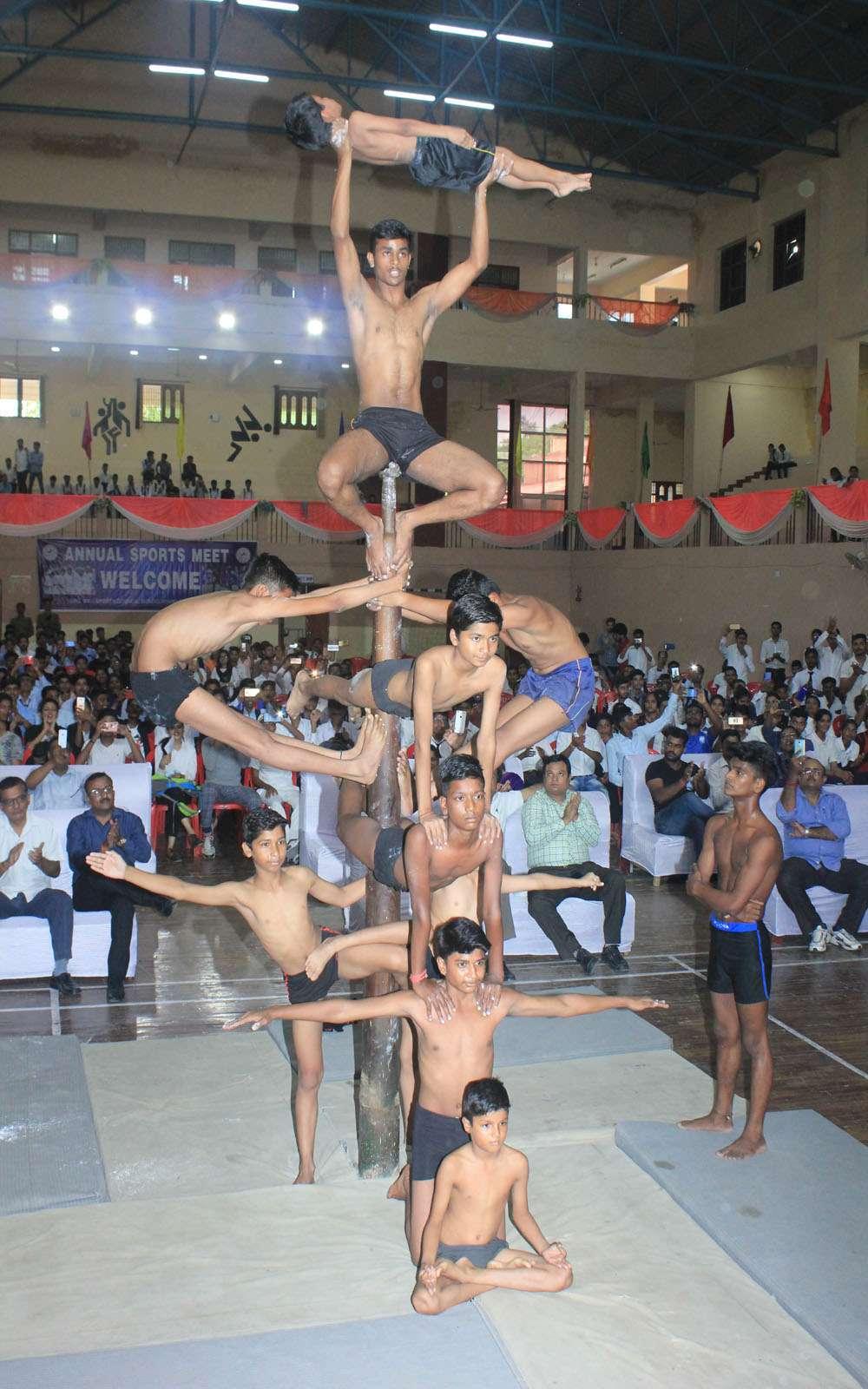 bundelkhand university jhansi sports meet-2018