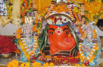 चिंतामन गणेश मंदिर पर पहले दिन पहुंचेंगे दस हजार श्रद्धालु