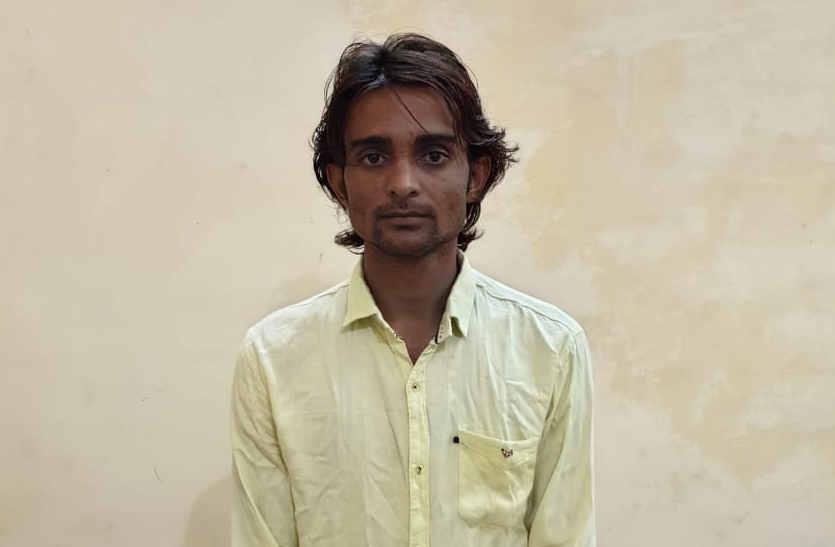 75 लाख के कपड़ा लूट मामले में सरगना अजमेर जेल से गिरफ्तार