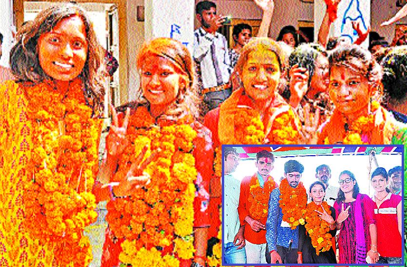 बाड़मेर के 7 कॉलेज: जानिए कैसे हुआ 3 में NSUI, 3 में ABVP व 1 में निर्दलीय का अध्यक्ष पद पर कब्जा