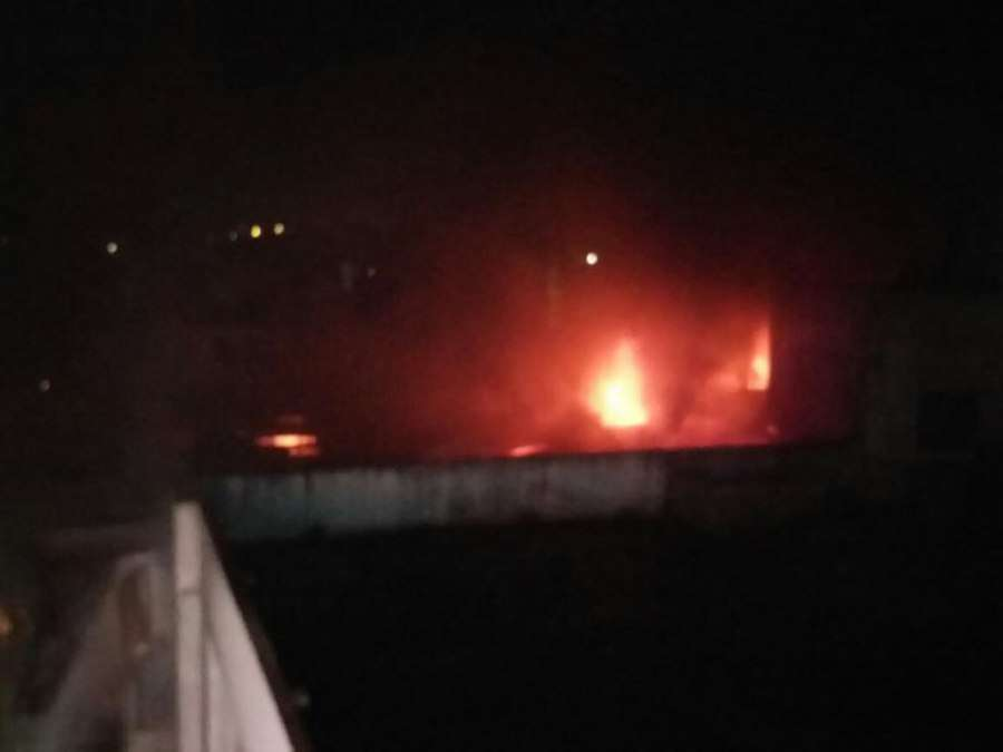 footwear warehouse fire in betul madhya pradesh