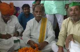 एससी एसटी एक्ट  के विरोध में भारतीय किसान यूनियन की हुंकार, भाजपा को बड़ी चेतावनी, देखें वीडियो
