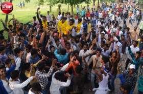 बांसवाड़ा : एसटीएससी-एनएसयूआई गठबंधन ने परचम लहराया, विपक्षी दलों का सफाया, गेर खेलकर जीत का जश्न मनाया