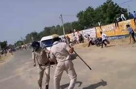 छात्रसंघ चुनाव परिणाम: नशे में धुत युवक ने दौड़ाई कार, घटना से मौके पर मची अफरा-तफरी