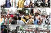गृहमंत्री राजनाथ सिंह पर भारी पड़ा कांग्रेसी पार्षद, पानी की टंकी में चढ़ आत्मदाह का किया प्रयास