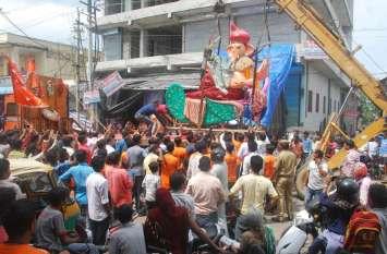गुरुवार से शहर में गूंजेंगे जयकारे गणपति बप्पा मोरिया... देखिए तस्वीरें