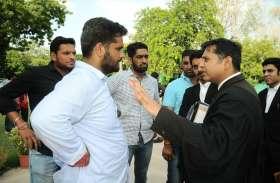 JNVU Election : छात्र संघ चुनाव हारे एबीवीपी प्रत्याशी मूलसिंह परिणाम को कोर्ट में देंगे चुनौती