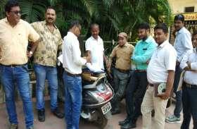 #अवैध निर्माण की जांच करने पहुंची प्रशासनिक टीम तो गायब हो गया होटल संचालक