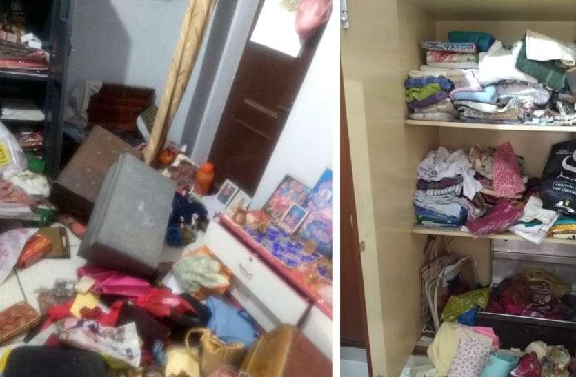 चोरों ने दो घरों पर बोला धावा, लाखों का माल किया पार, पुलिस की पकड़ से चोर रहे दूर