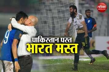 Saff Cup 2018: पाकिस्तान को रौंदते हुए फाइनल में पहुंचा भारत, मालदीव से होगी खिताबी भिड़ंत