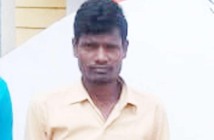 हत्या कर ससुराल में छुपा रहा आरोपी, पुलिस ने धर-दबोचा