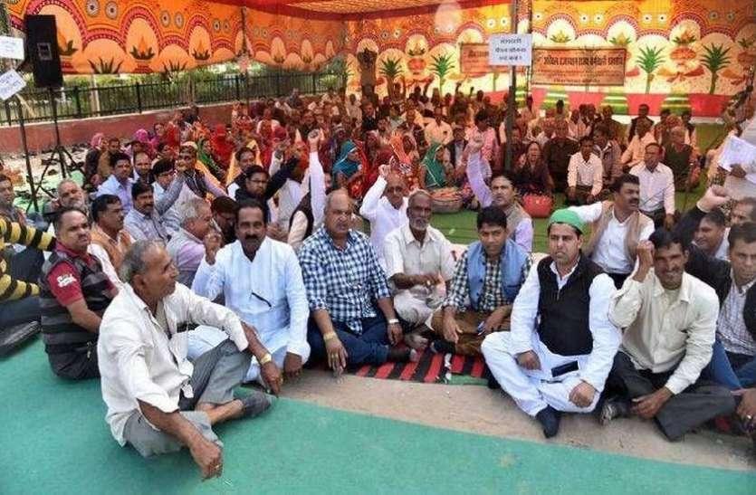 राजस्थान में अब ये आंदोलन