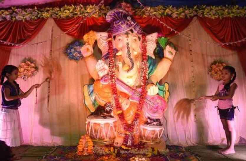 ganesh chaturthi 2018 ये है गणपति स्थापना का शुभ मुहूर्त, पूजा विधि, सामग्री, आरती व मंत्र