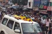 करणी सेना ने कांग्रेस के दिग्गज नेता को दिखाए काले झंडे, लगाए वापस जाओ के नारे