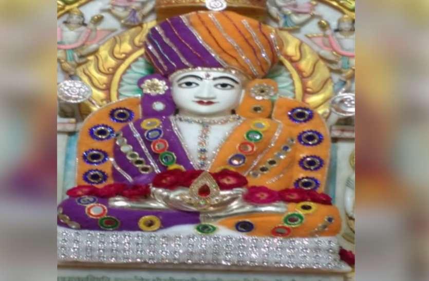 पर्युषण पर्व : मंदिरों में छाया जन्म का उल्लास