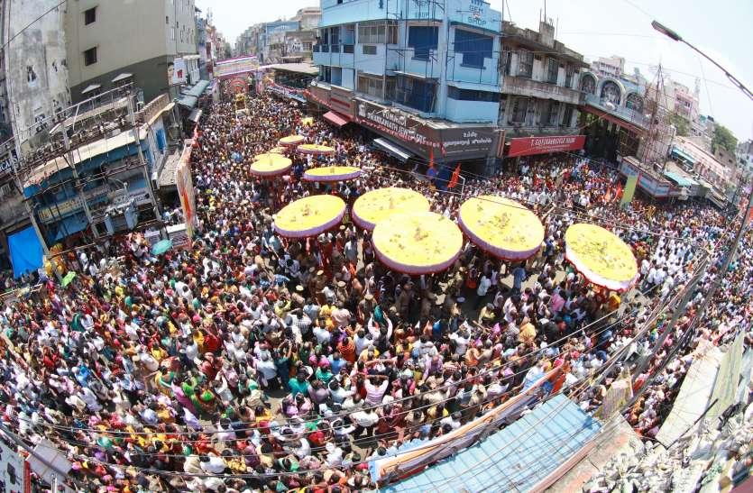 तिरुपति तिरुकुड्डै उत्सव शुरू