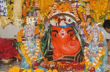 प्रसिद्ध गणेश मंदिर में लगा 10 दिन का मेला पहले दिन पहुंचे हजारों भक्त
