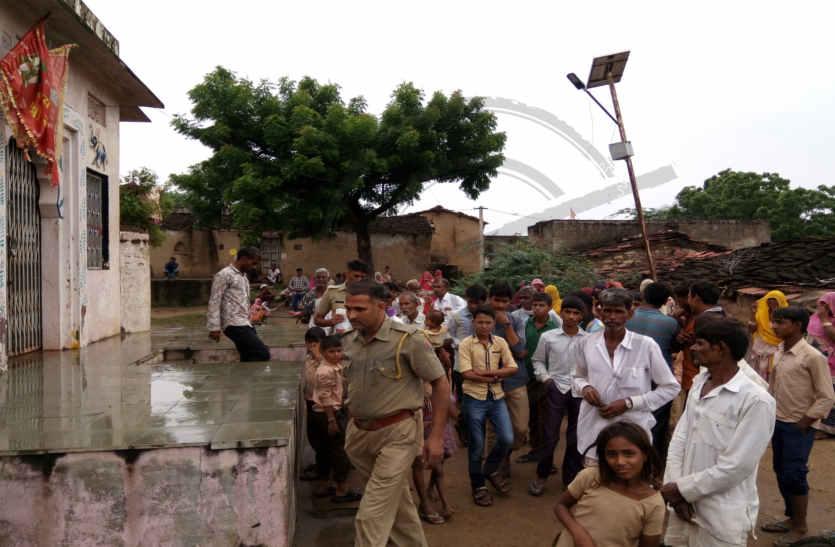 बाल अपचारियों ने तोड़ा मंदिर का दानपात्र, एक को पकड़ा, दूसरा भागा