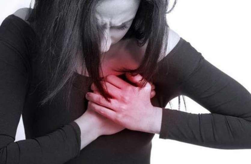 महिलाओं में स्ट्रेस ज्यादा, दिल कमजोर !
