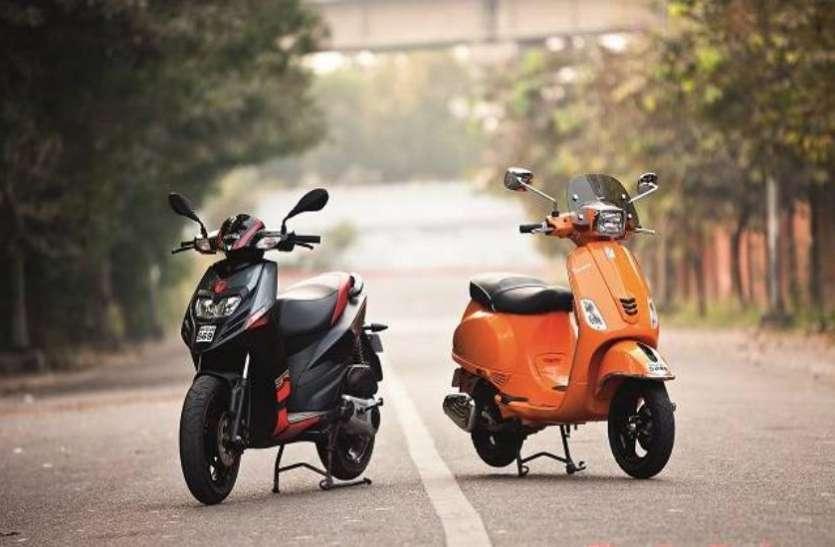 फेस्टिव सीजन पर बड़ा ऑफर, सिर्फ 3,999 रुपये में मिल रहे हैं Vespa के Scooters