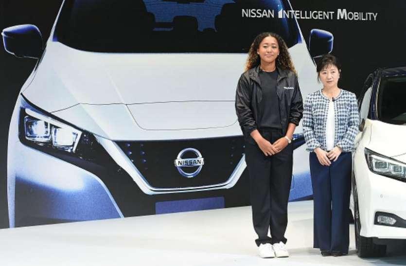 US Open जीतने वाली नाओमी ओसाका को निसान ने बनाया अपना ब्रांड एम्बेसडर