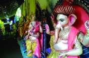 विघ्नहर्ता भगवान श्रीगणेश के स्वागत में जुटे श्रद्धालु, चलित झांकियों के होंगे दर्शन
