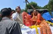 Ganesh chaturthi : शिवराज के घर विराजे गणपति बप्पा