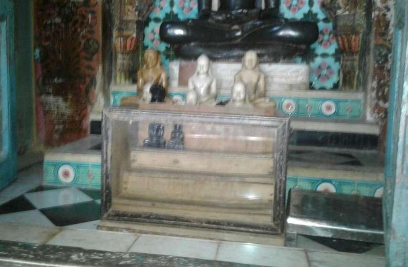 बड़ी खबर : जैन मंदिर से 500 साल पुरानी बेशकीमती 22 अष्ठधातु की मूर्तियां चोरी