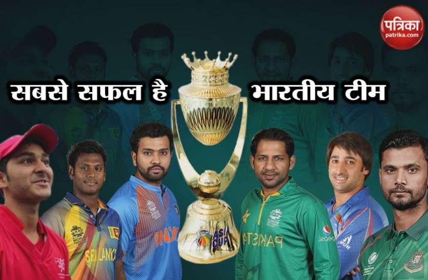 Asia Cup 2018: छह बार की चैंपियन है भारतीय टीम, टूर्नामेंट शुरू होने से पहले जानें ये रोचक आंकड़ें