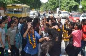pics : खुशी का माहौल , girls ने कुछ यूं मनाया जीत का जश्न