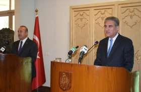 तुर्की के विदेश मंत्री ने की पाकिस्तानी समकक्ष से मुलाकात, कई मुद्दों पर हुई चर्चा
