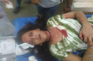 video : लव जेहाद में फंसी महिला को मुस्लिम पति ने गले पर चाकू मारा