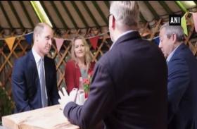राजकुमार विलियम अफ्रीका के दौरे पर पहुंचे