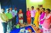 Photo Gallery : ग्रामीण क्षेत्रों में जगह-जगह विराजित की गई गणपति
