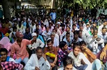 भीम आर्मी के सैकड़ों कार्यकर्ता इस मांग को लेकर पहुंचे एसएसपी ऑफिस, पुलिस को दी गंभीर चेतावनी