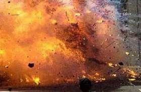 झांसी में हुआ विस्फोट, कई हुए घायल