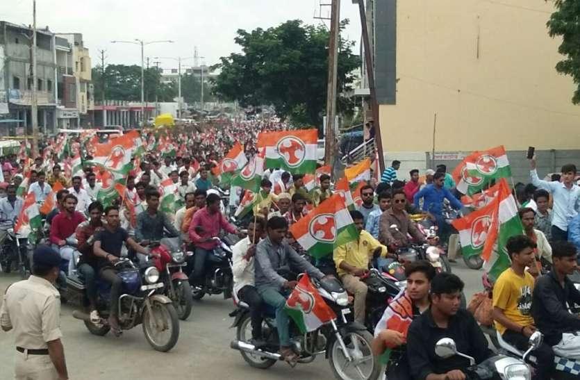 MP ELECATION 2018: पेट्रोल-डीजल के दामों में बढ़ोतरी के खिलाफ 500 वाहनों की रैली