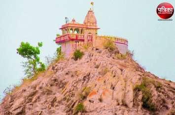 वागड़ का एकमात्र स्थान जहां पहाड़ पर विराजते हैं गजानंद भगवान, 18 लाख स्वीकृत लेकिन नहीं हुआ एक रुपए का भी काम