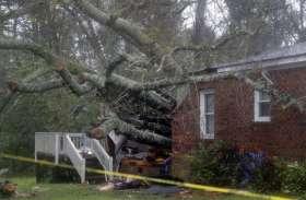 Video: अमरीका में तूफान फ्लोरेंस से तबाही जारी, करीब आठ लाख घरों से बिजली गायब
