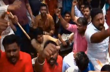 नन रेप मामला: आरोपी बिशप की गिरफ्तारी की मांग को लेकर बीजेपी कार्यकर्ताओं का विरोध प्रदर्शन, देखे वीडियो