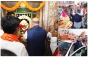 हैदराबाद में भाजपा अध्यक्ष अमित शाह ने की भगवान गणेश की पूजा-अर्चना