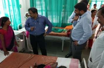 नोडल अधिकारी के. राम मोहन ने संयुक्त जिला चिकित्सालय का किया औचक निरीक्षण, दिया ये बयान