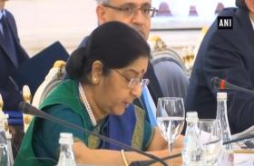 video: भारत और रूस के बीच का व्यापार 711 अरब रुपए तक पहुंचा: सुषमा स्वराज